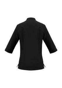 Pier Ladies 3/4 Sleeve Blouse - Solomon Brothers Apparel