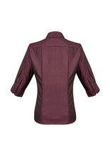 Load image into Gallery viewer, Hawthorn Ladies 3/4 Sleeve Blouse - Solomon Brothers Apparel
