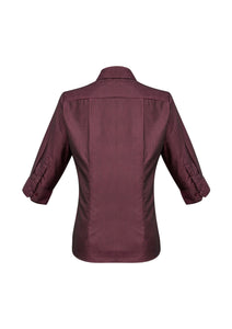 Hawthorn Ladies 3/4 Sleeve Blouse - Solomon Brothers Apparel