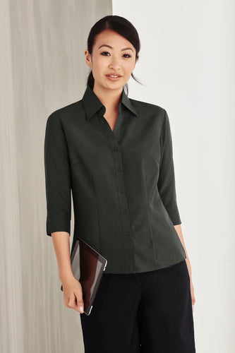 Haven Care Ladies 3/4 Sleeve Blouse - Solomon Brothers Apparel
