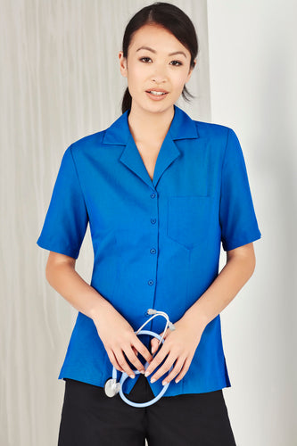 Haven Care Ladies Short Sleeve Overblouse - Solomon Brothers Apparel