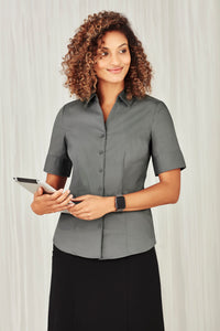 Sorrento Care Ladies Short Sleeve Blouse - Solomon Brothers Apparel
