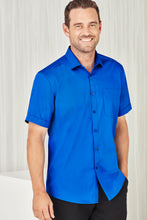 Load image into Gallery viewer, Sorrento Care Mens Short Sleeve Shirt - Solomon Brothers Apparel