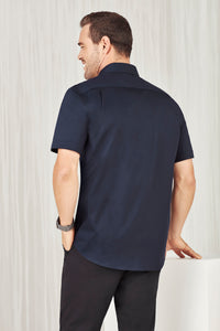 Sorrento Care Mens Short Sleeve Shirt - Solomon Brothers Apparel