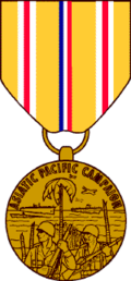 US Asiatic-Pacific Campaign Medal - Solomon Brothers Apparel