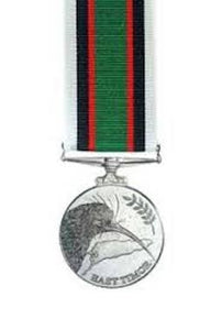 New Zealand East Timor Medal - Solomon Brothers Apparel