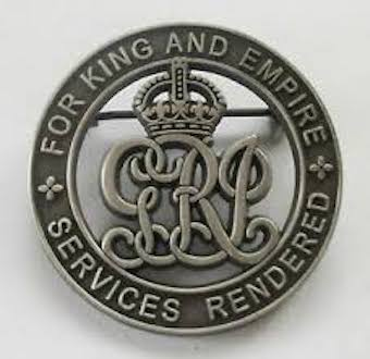 For King and Empire Services Rendered Badge - Solomon Brothers Apparel