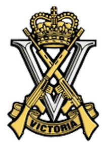 Royal Victorian Regiment Cap Badge - Solomon Brothers Apparel