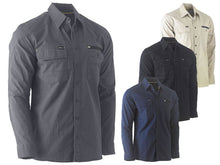 Load image into Gallery viewer, Bisley Flex & Move Utility Work Shirt - Long Sleeve - Solomon Brothers Apparel