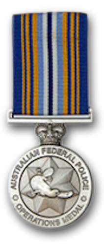 Australian Federal Police Operational Medal - Solomon Brothers Apparel