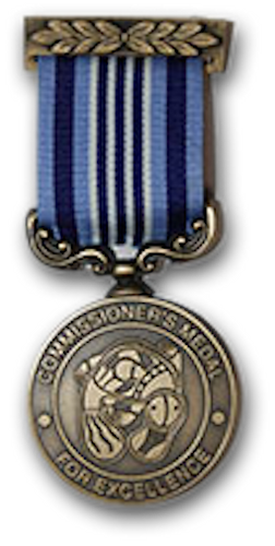 Australian Federal Police Commissioners Medal for Excellence - Solomon Brothers Apparel