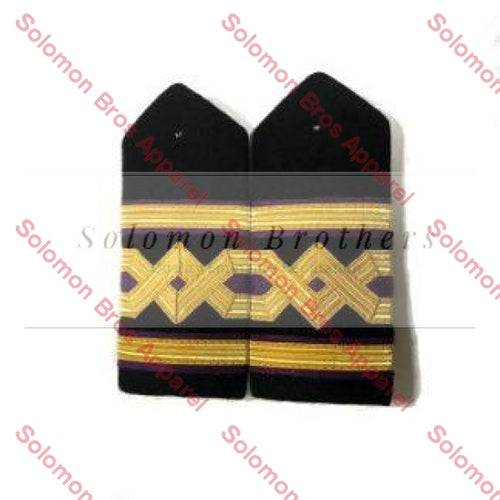 Chief Engineer Hard Epaulettes - Merchant Navy - Solomon Brothers Apparel