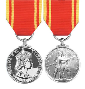 Fire Brigade Long Service & Good Conduct Medal - Solomon Brothers Apparel