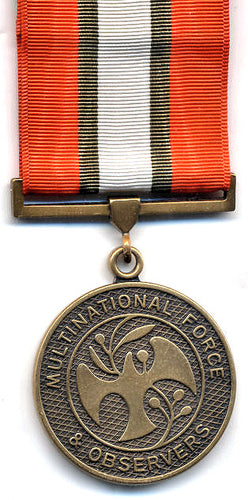 Multinational Force and Observers Medal - Solomon Brothers Apparel