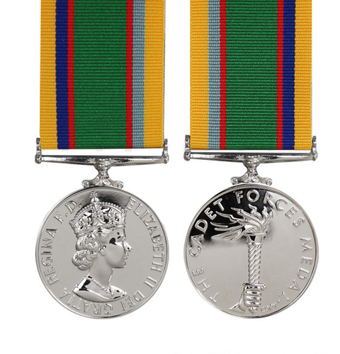 British Cadet Forces Medal - Solomon Brothers Apparel