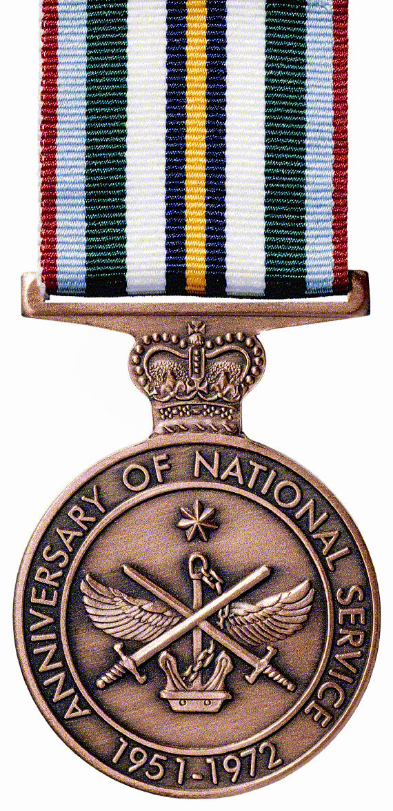 Anniversary of National Service  1951-1972 - Solomon Brothers Apparel