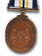 A.C.T. Community Policing Medal - Solomon Brothers Apparel