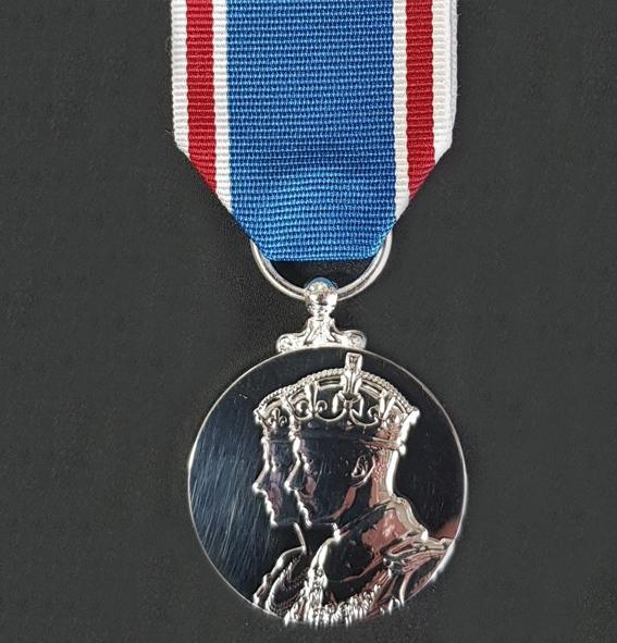 Coronation Medal 1937 GVIR - Solomon Brothers Apparel