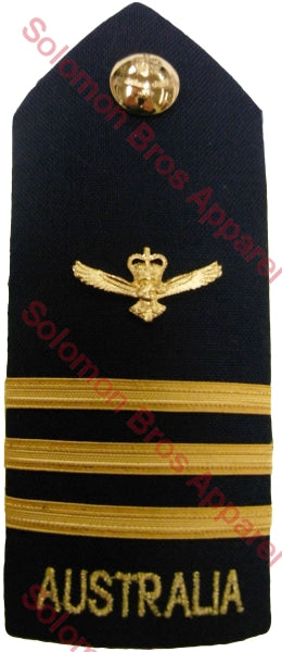 R.A.A.F. Wing Commander Shoulder Board - Solomon Brothers Apparel