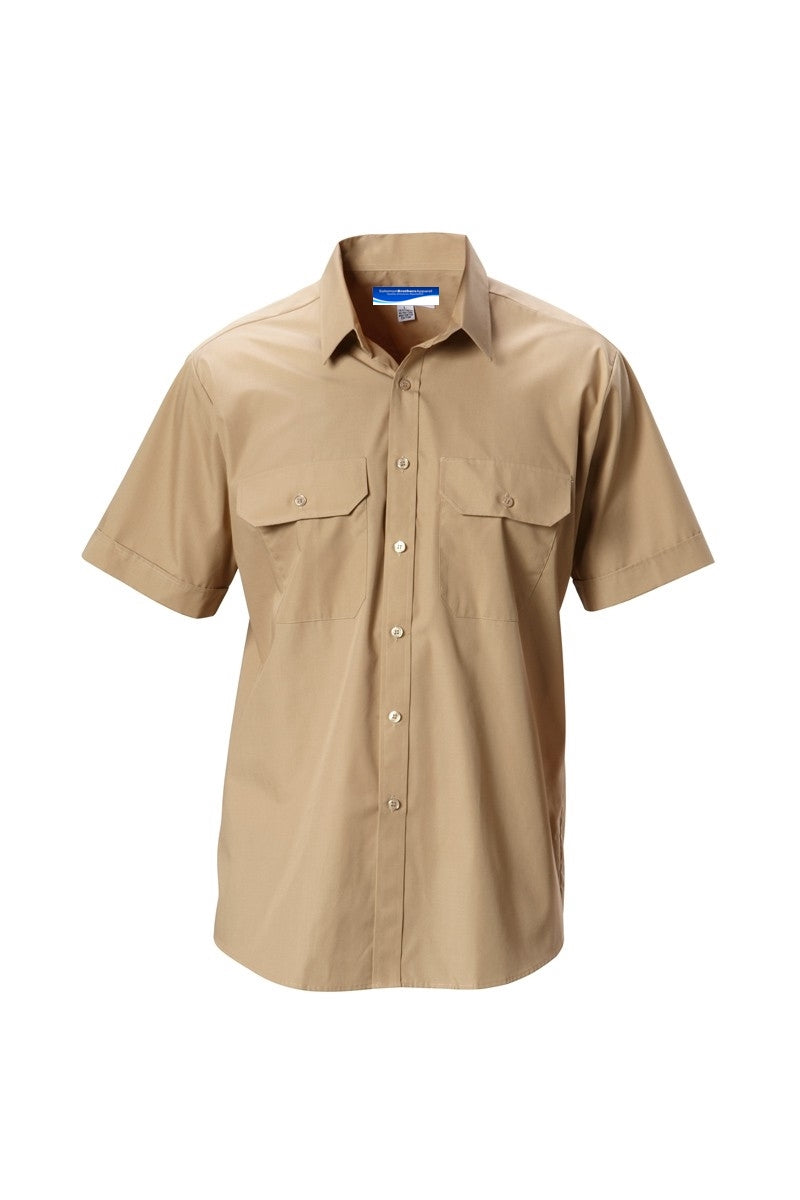 Merchant Navy Khaki Shirt - Solomon Brothers Apparel