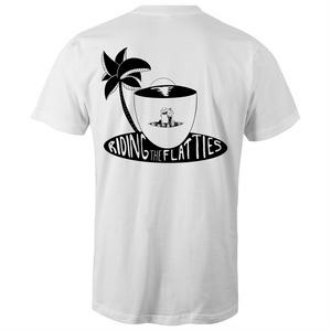 Ridin the Flatties - Mens T-Shirt