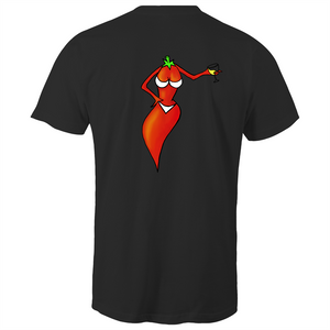 Sexy Chilli (back)- Mens T-Shirt