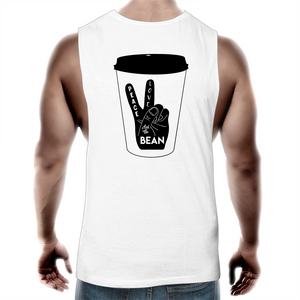 Peace, Love and The Bean- Mens Tank