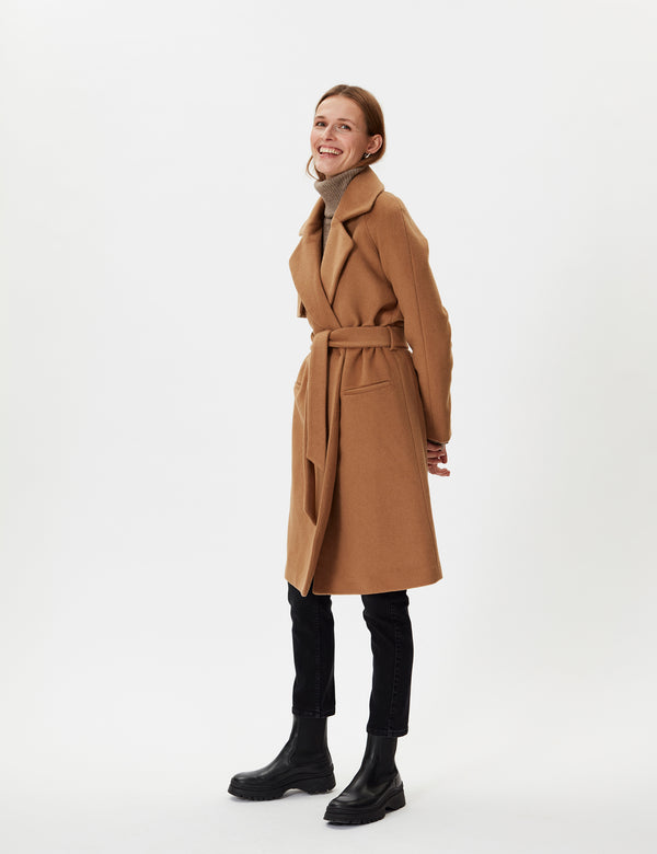 2NDDAY 2ND Livia Coats 10004 Golden Camel