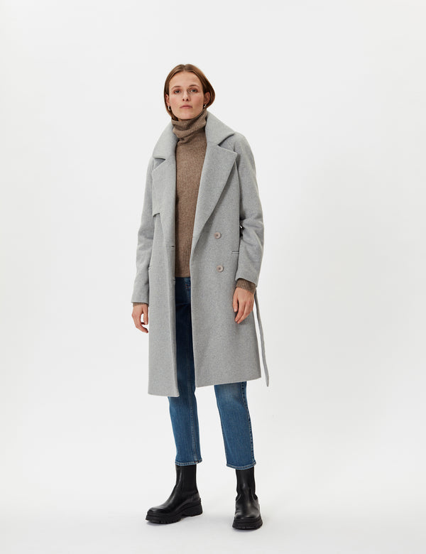 2NDDAY 2ND Livia Coats 11990 Light Grey Mel.