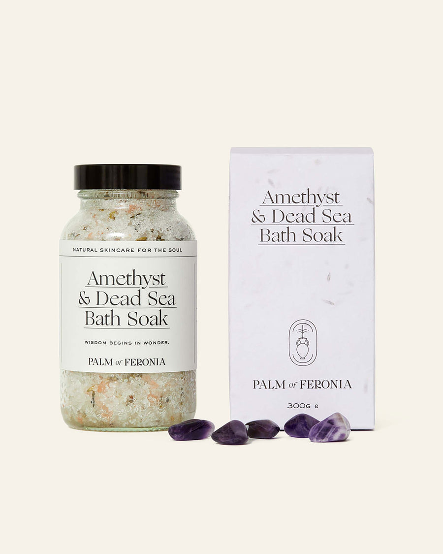 Vegan Amethyst & Dead Sea Bath Soak