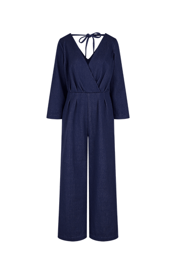 Organic Denim Jumpsuit