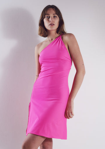 Kate Dress in Neon Pink - Pre Order