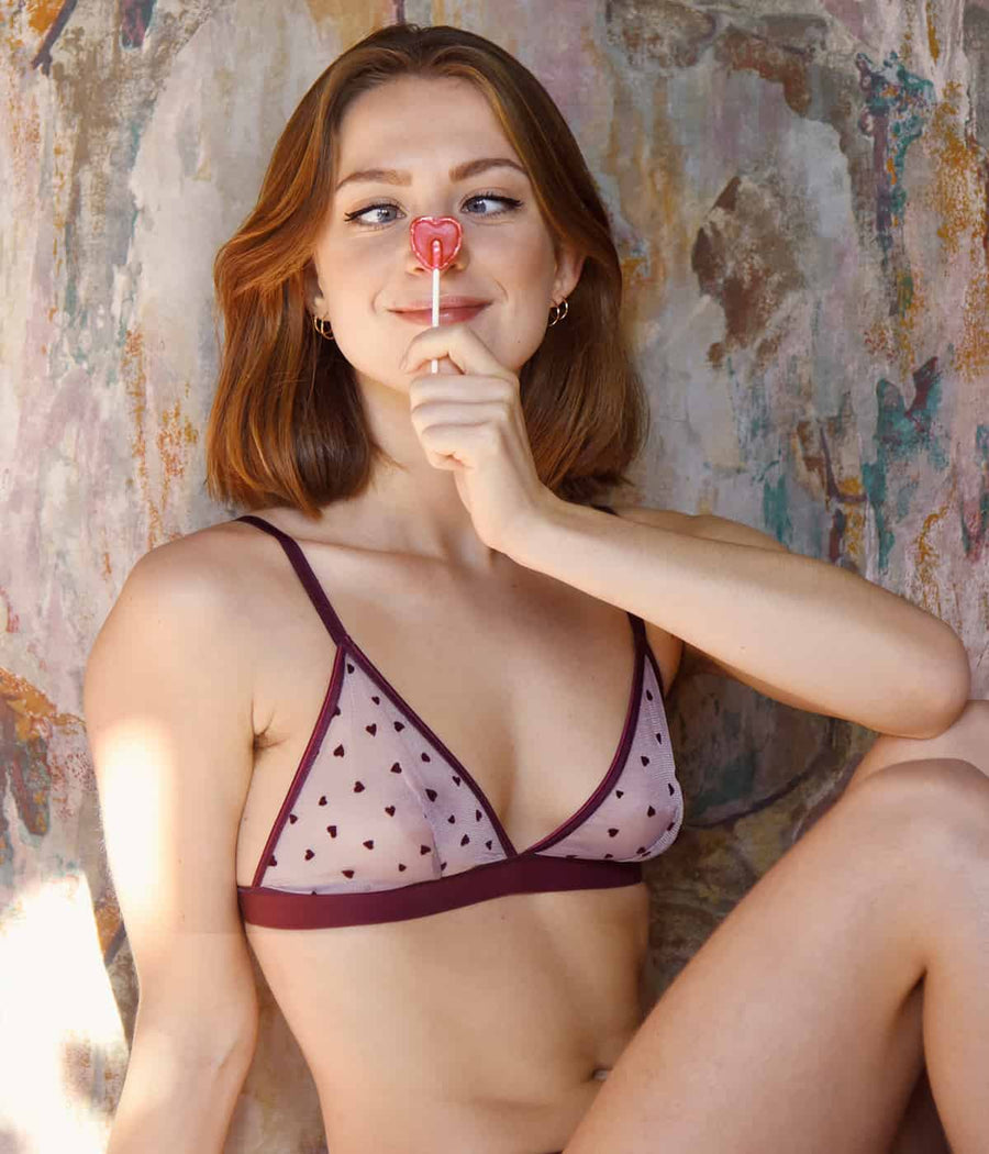 Amour Bra in Pink