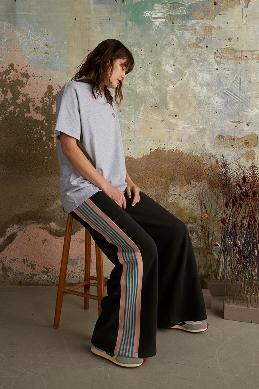 Organic Cotton Side Striped Joggers