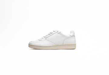 Eden V2 Unisex Vegan Trainers in White