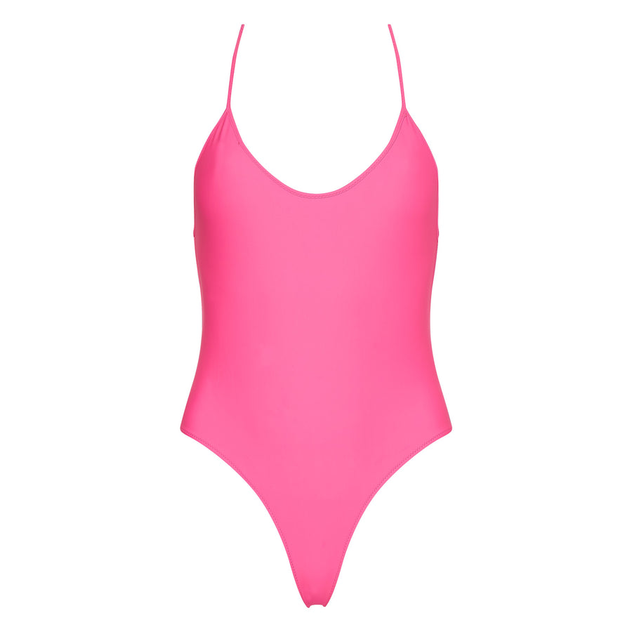 Fitzgerald One Piece in Neon Pink