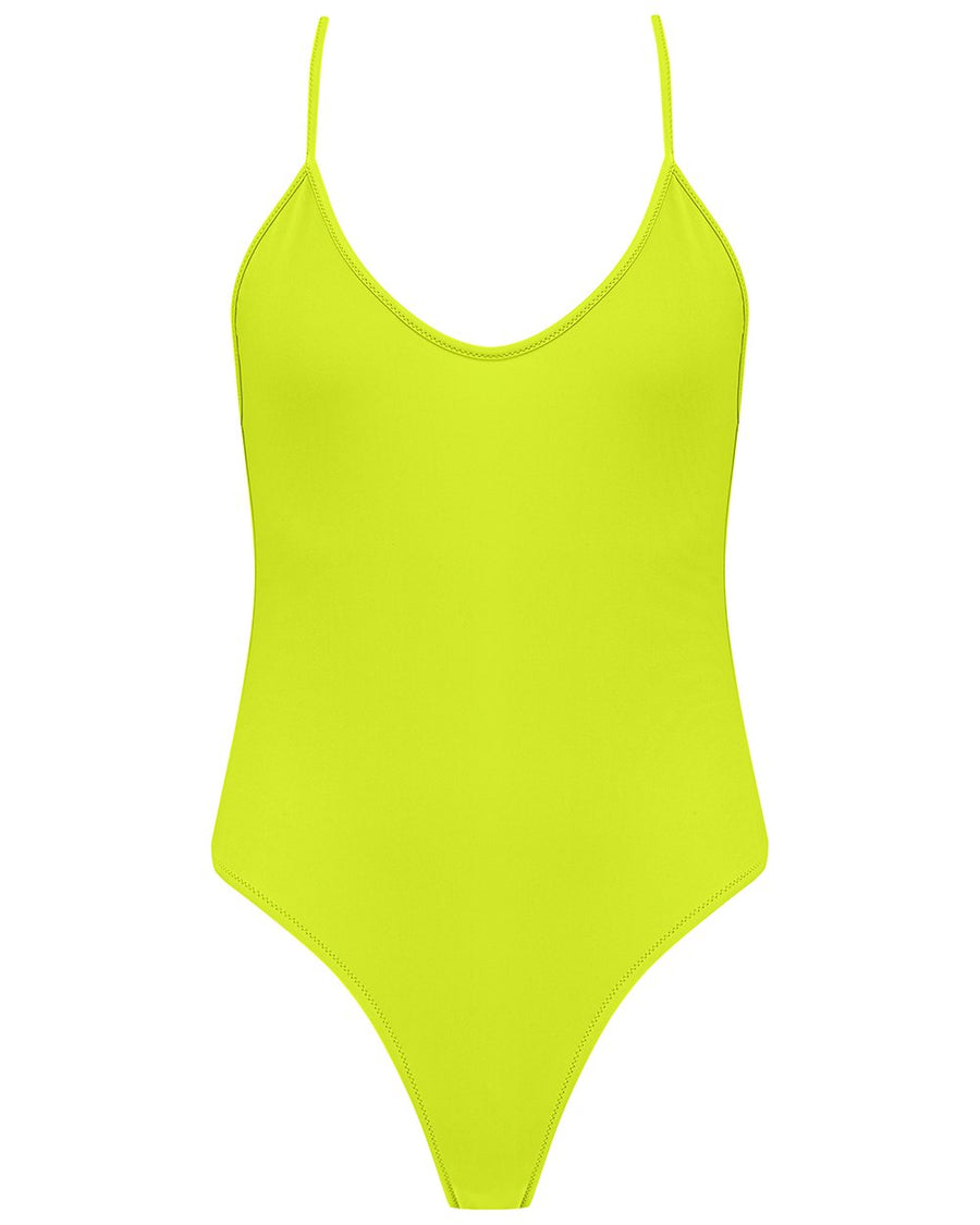 Fitzgerald One Piece in Lime