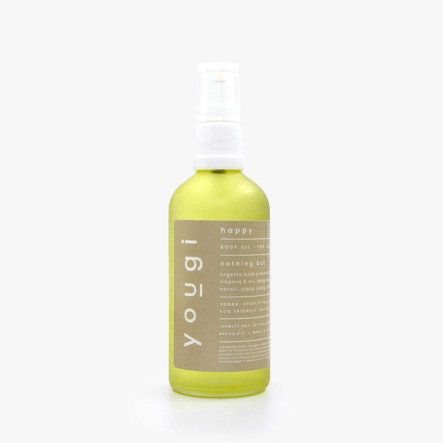 Happy Vegan Body Oil