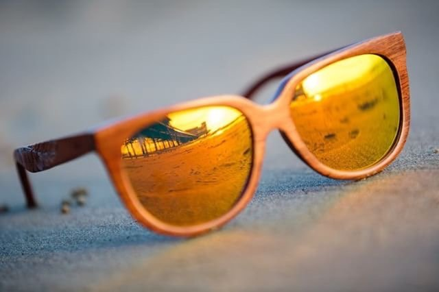Phoenix Sunglasses with Mirrored Lens