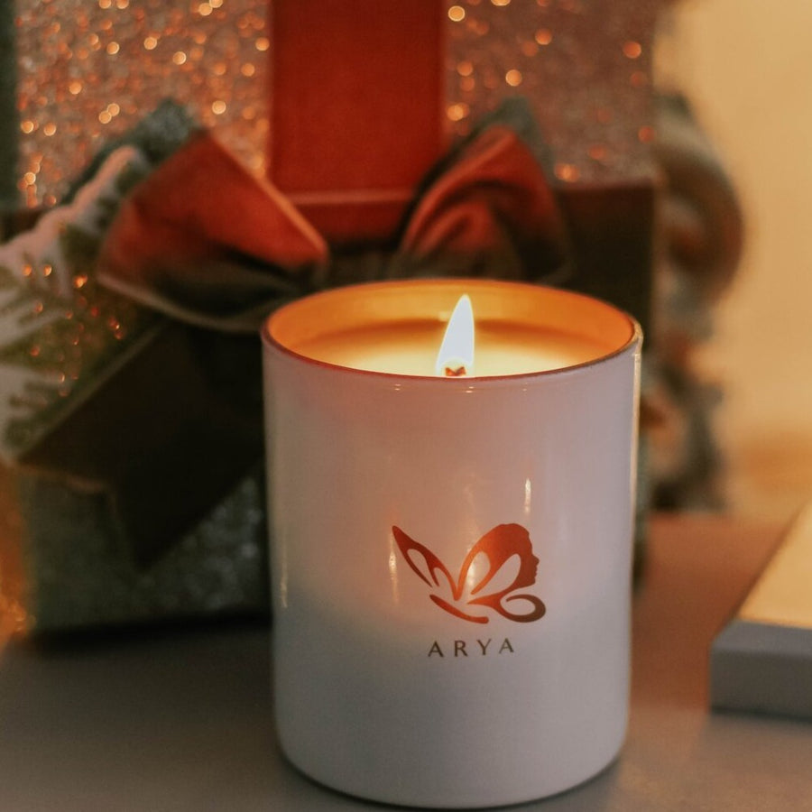 Natural Vetivert, Rosewood & Pine Large Candle