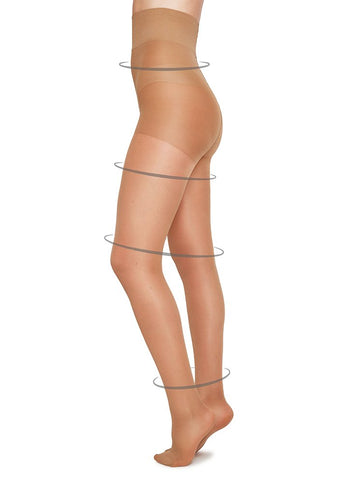 Irma Support Tights in Sand