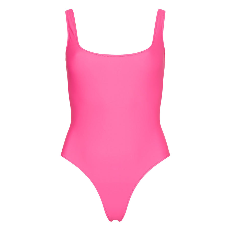 Ideal One Piece in Neon Pink