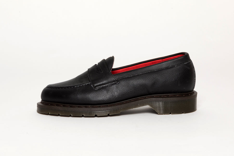 Bloody Good Guys / Jane Vegan Leather Loafers in Black