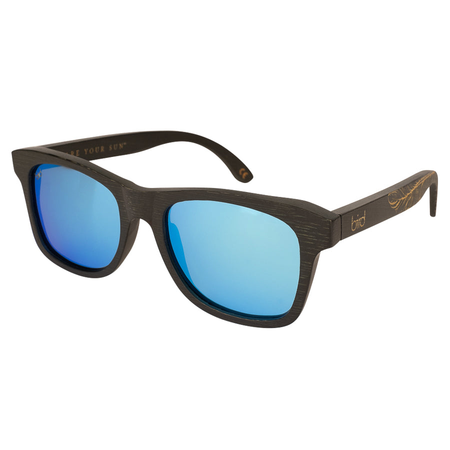 Jay Sunglasses in Blue Mirror