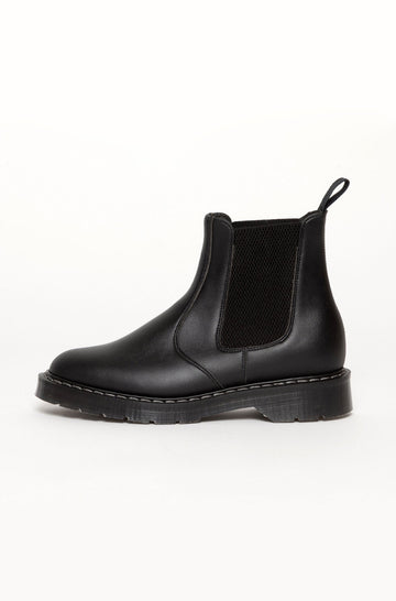 Bloody Good Guys / Oscar Vegan Leather Dealer Boots in Black