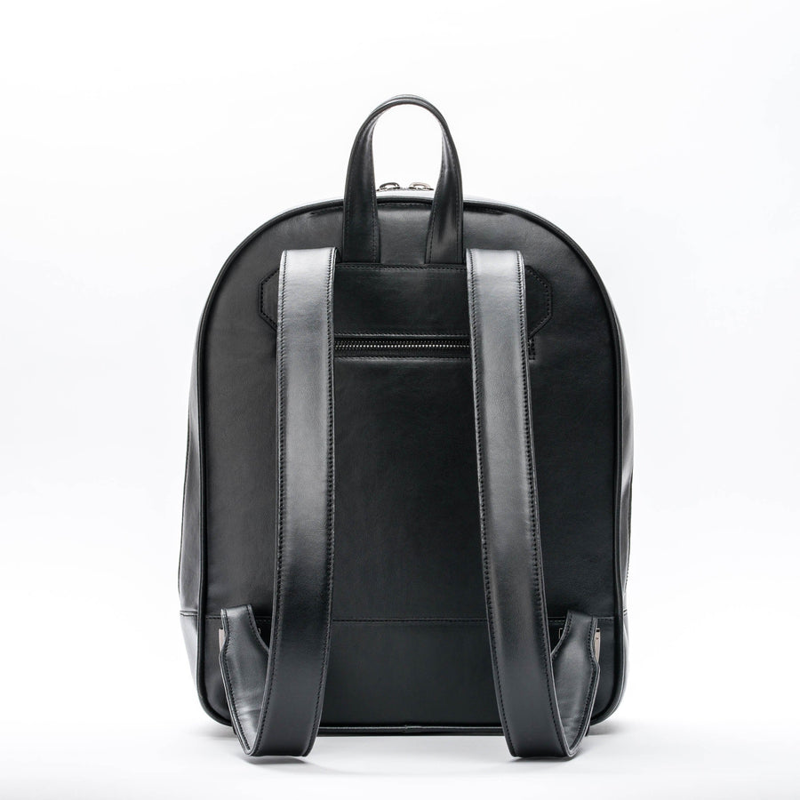 Nieuw-West Vegan Leather Backpack in Black