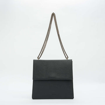 Vondelpark Vegan Leather City Bag in Black
