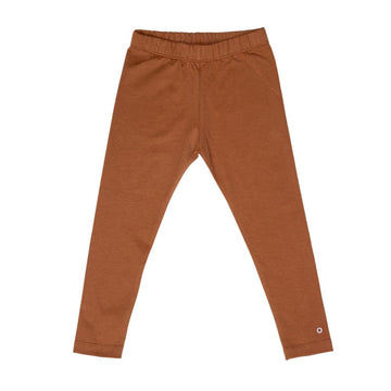 Play-All-Day Organic Cotton Leggings in Caramel Cookie