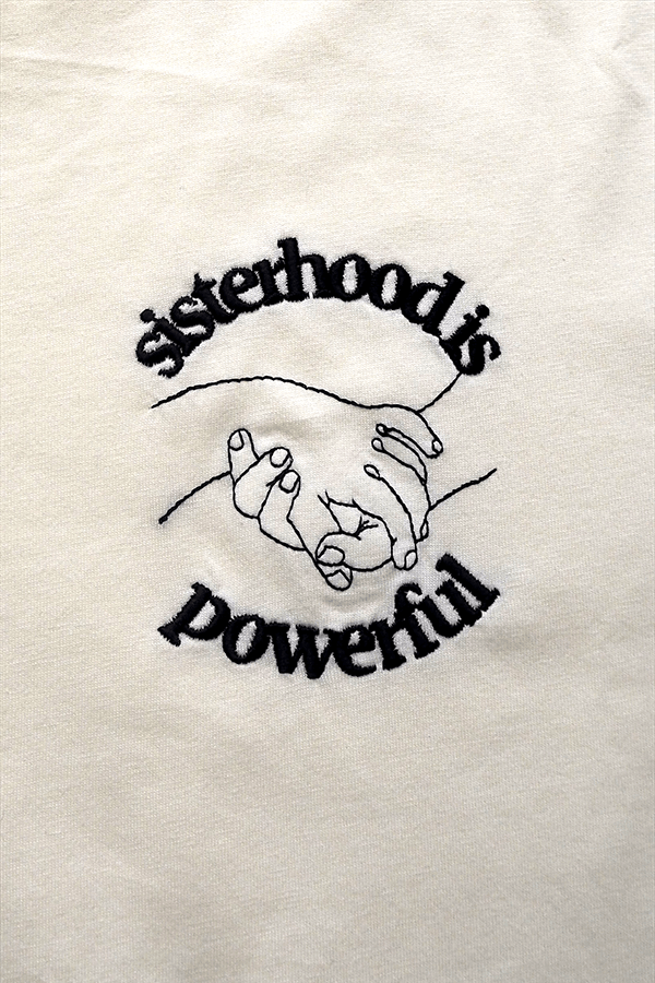 Unisex Sisterhood is Powerful Organic Cotton T-Shirt