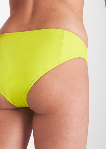 Le Rayol Bikini Bottom in Lime
